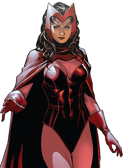 dress up as comic book scarlet witch