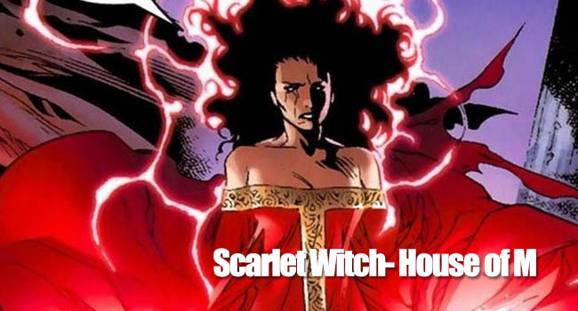 scarlet witch- house of M