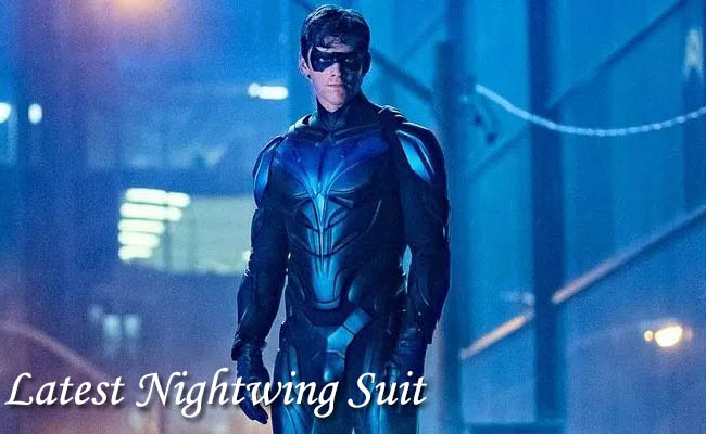 Latest Nightwing Suit
