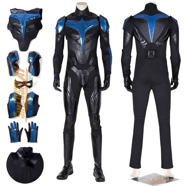 nightwing cosplay costumes by simcosplay